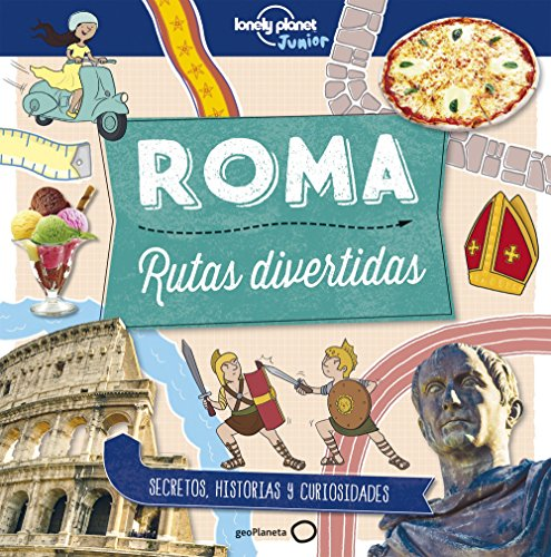 portada Roma. Rutas Divertidas (Lonely Planet Junior)