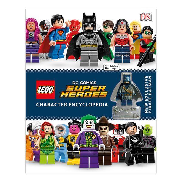 Lego dc Comics Super Heroes Character Encyclopedia: New Exclusive Pirate Batman Minifigure (libro en Inglés) - Dk - Dk Children