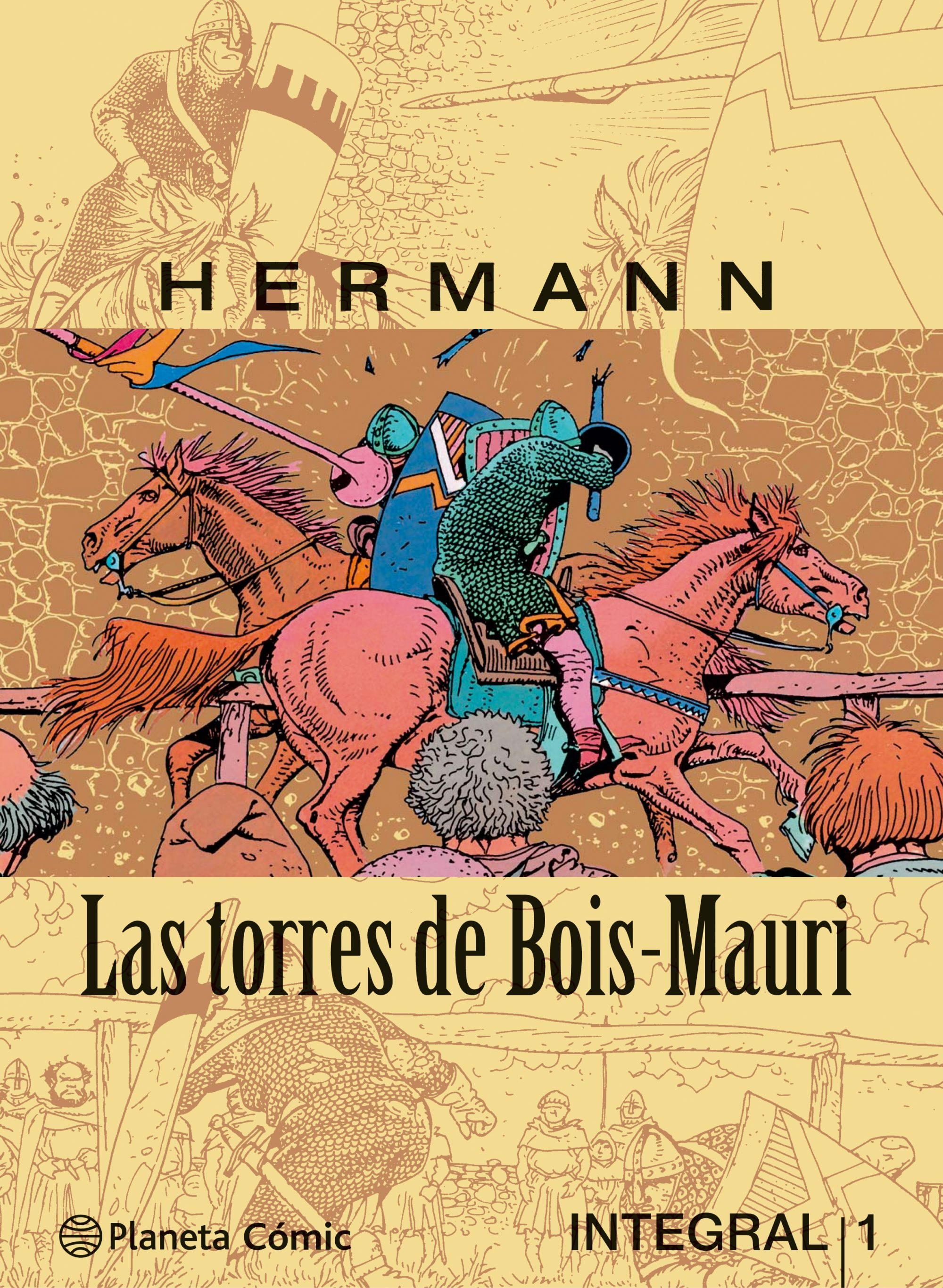 Las Torres de Bois-Mauri - Hermann - Planeta Deagostini Cómics