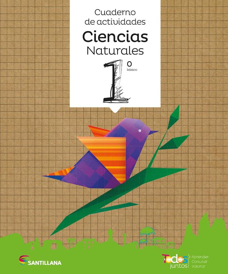 portada Todos Juntos Cuaderno De Actividades Ciencias Naturales 1