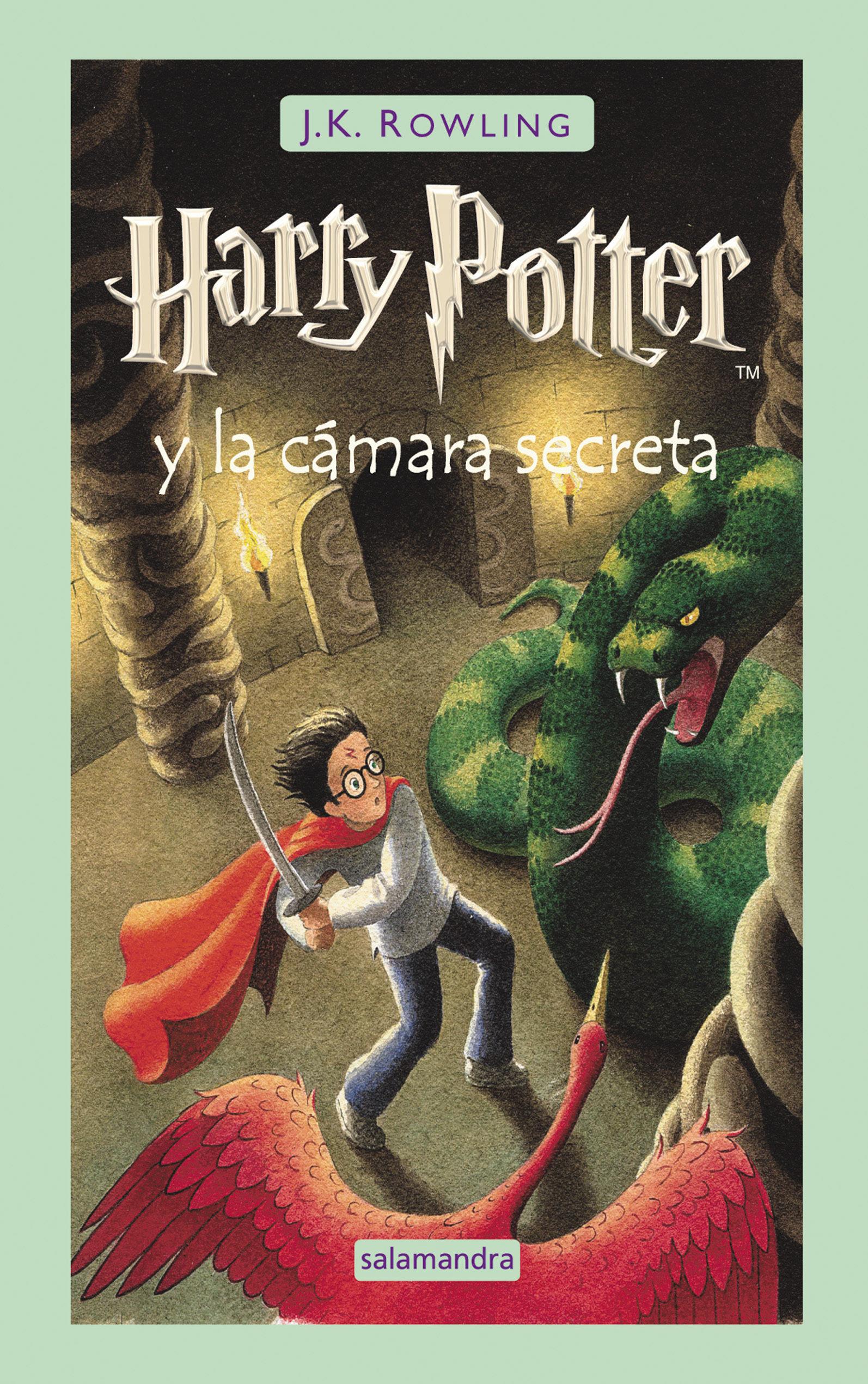 Harry Potter y la Cámara Secreta - J.K. Rowling - Salamandra