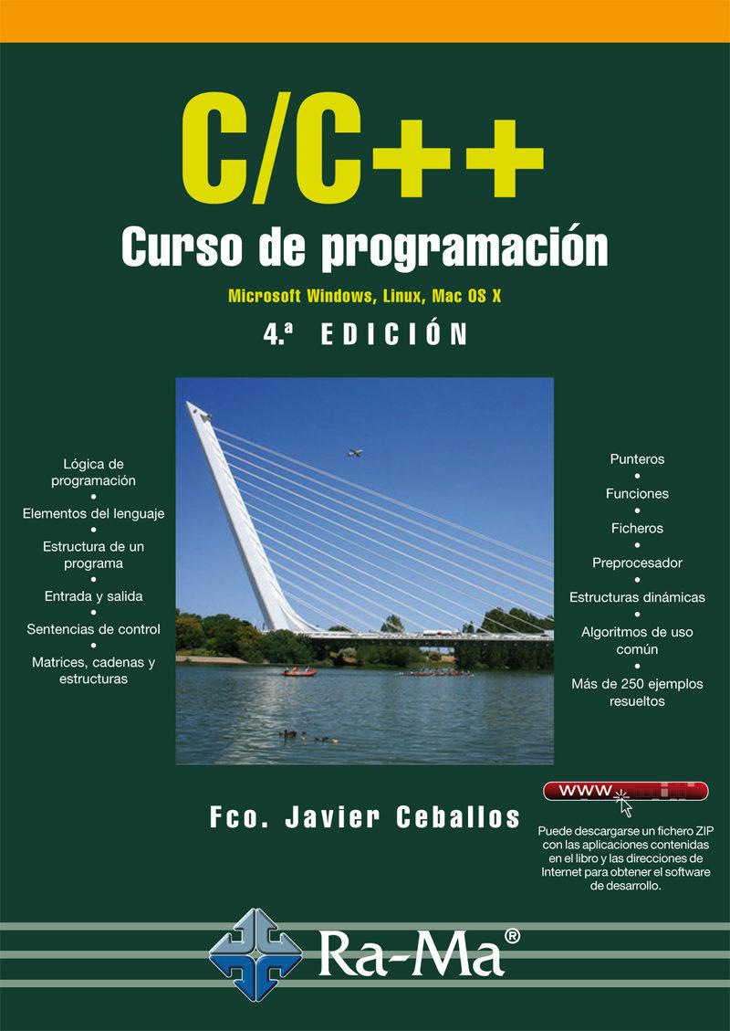 portada C/C++. Curso de Programación - 4ª Edición
