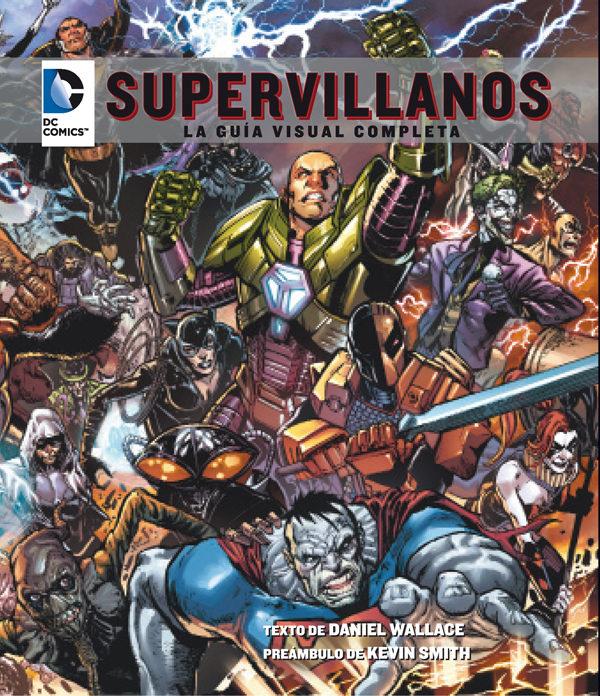 Dc Comics Supervillanos Guia Visual Comp [Paperback] - Daniel Wallace - Laberinto