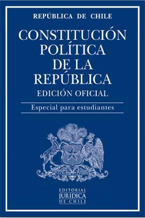 Constitución Política de la República. Especial Estudiantes - Editorial Juridica De Chile - Editorial Juridica De Chile